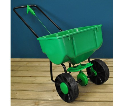 Lawn Rotary Broadcast Spreader for Feed Fertilizer Seed and Sand (27 Litre Capacity)